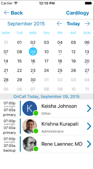 ON-CALL SCHEDULING AND NOTIFICATION
