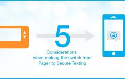 Replacing Pagers with Secure Texting: 5 Essential Considerations