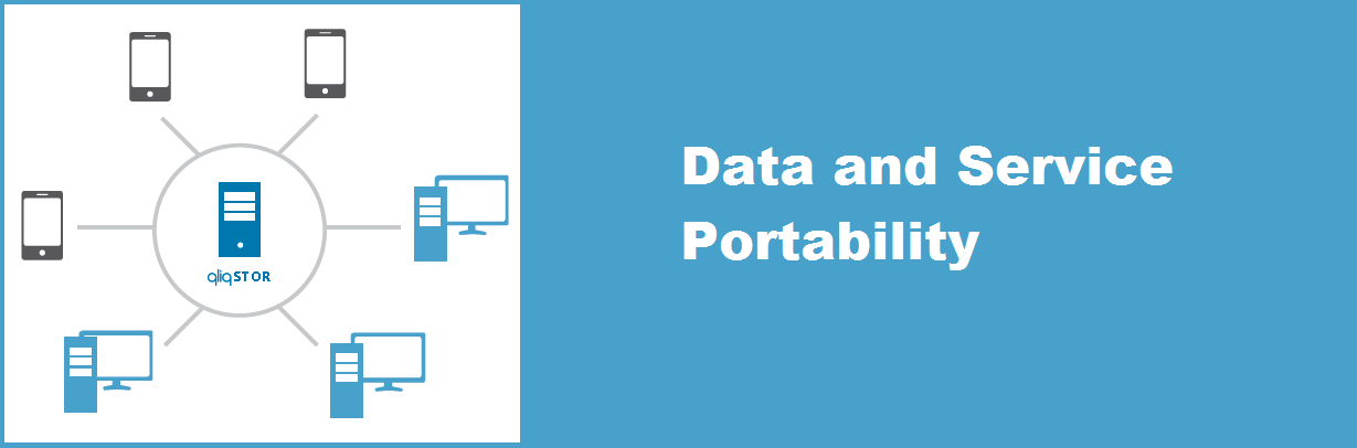 data and service portability