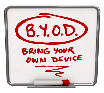 rolling out a byod policy