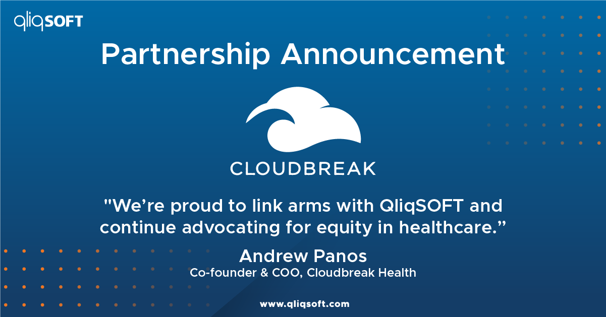 QliqSOFT, Cloudbreak Health Remove Barriers to Care with Integration of Video Interpretation Service